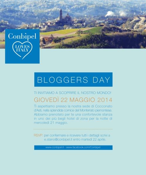 Conbipel_Invito Blogger Day 21_22 Maggio (1)