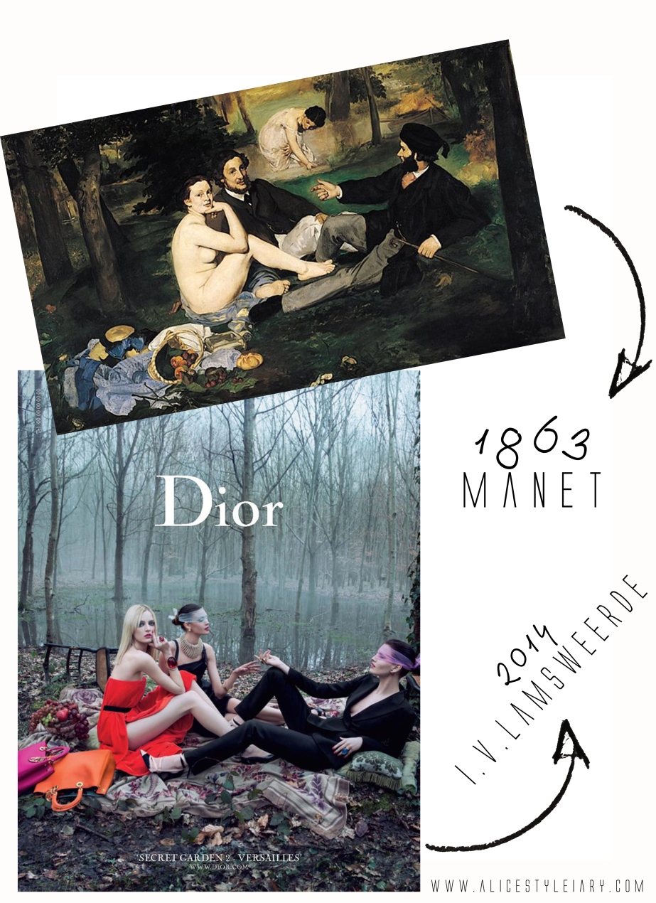 "Past Vs Present: Dior ""Then and Now"""