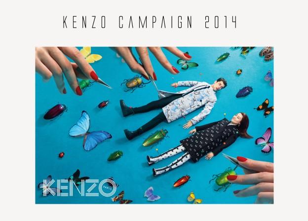 kenzo campaign 2014