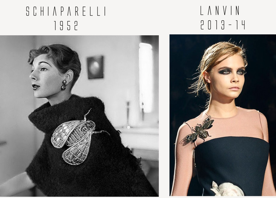 Past Vs Present: From Schiaparelli to Kenzo