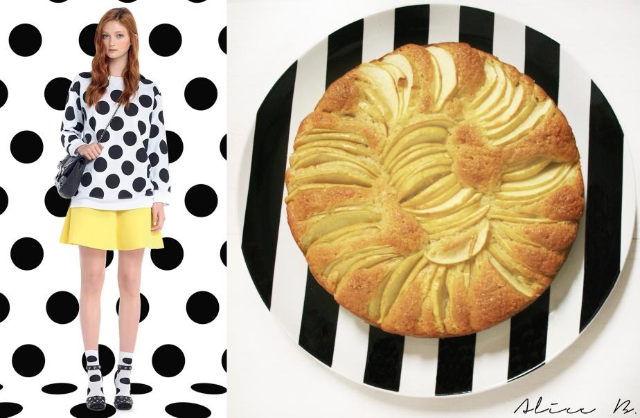 Fashion Vs Food: Apple Cake Vs Valentino and LucasNascimento