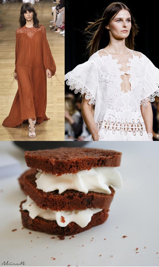 chloè choco cake cream sandwich