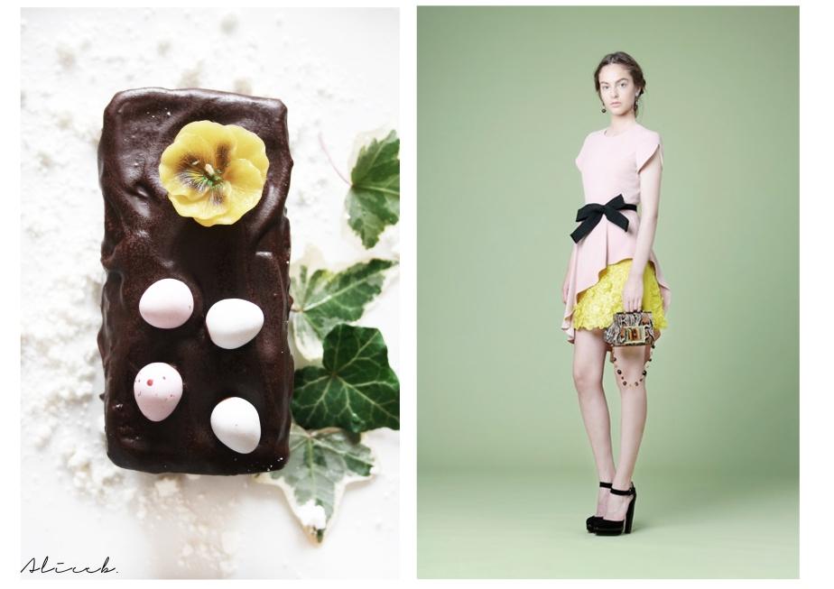 Fashion Vs Food: Easter Cake Vs AndrewGN