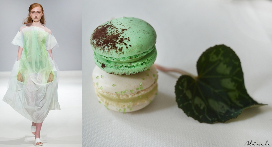 Fashion Vs Food:Swedish School of Textile Vs Matcha Macarons