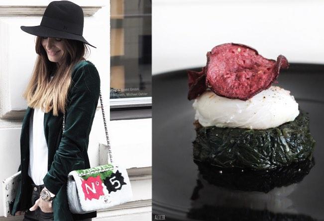 Fashion Vs Food: Iconic Lena  Vs VeggyTimbale