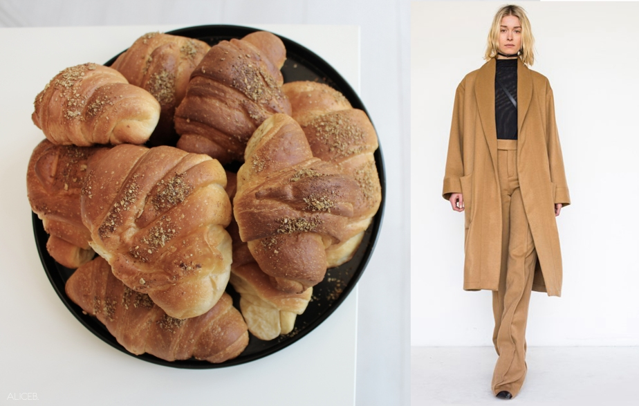 Fashion Vs Food: Cereal Croissants Vs Assembly