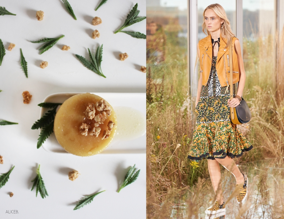 Fashion Vs Food: Honey Pudding Vs Coach SS16
