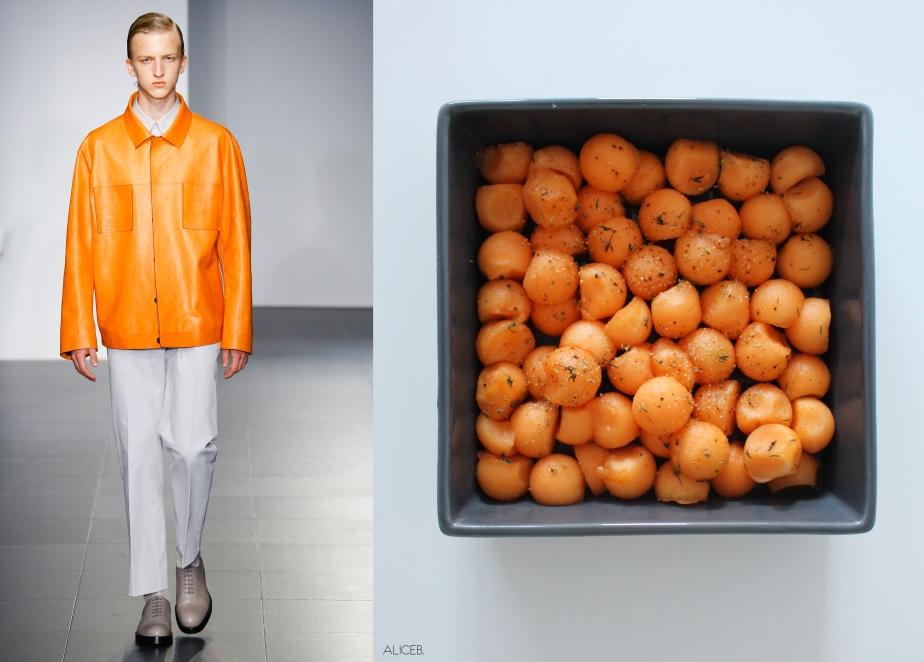 Fashion Vs Food:Fresh Fingers Vs Viktor & Rolf and JilSander